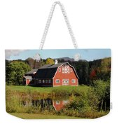 Vermont Barn Weekender Tote Bag