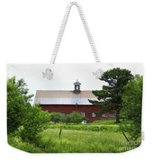 Vermont Barn With Tire Swing Weekender Tote Bag