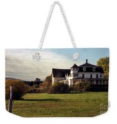 Vermont Farmhouse Weekender Tote Bag