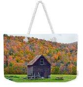 Vermont Garden Shed In Autumn Weekender Tote Bag