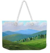 Vermont Pastures Weekender Tote Bag