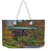 Vermont Rural Autumn Beauty Weekender Tote Bag