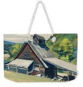 Vermont Sugar House Weekender Tote Bag