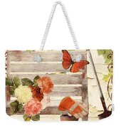 Vermont Summer Park Bench Weekender Tote Bag