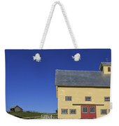 Vermont Yellow Barn 8x10 Ratio Weekender Tote Bag