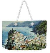 Vernazza Cinque Terre Italy Weekender Tote Bag