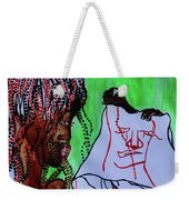Veronica Wipes The Face Of Jesus Weekender Tote Bag