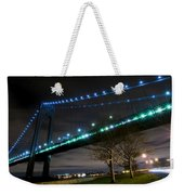 Verrazano-narrows Bridge Weekender Tote Bag