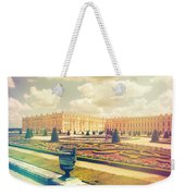 Versailles Gardens And Palace In Shabby Chic Style Weekender Tote Bag