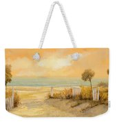 Verso La Spiaggia Weekender Tote Bag by Guido Borelli