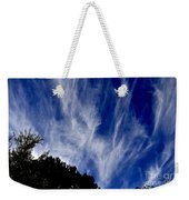 Vertical Clouds Weekender Tote Bag