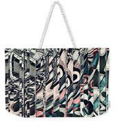 Vertical Graphic Layers Weekender Tote Bag