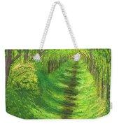 Vertical Tree Tunnel Weekender Tote Bag