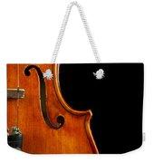 Vertical Violin Art Weekender Tote Bag