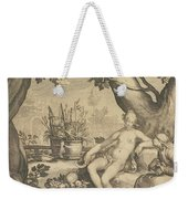 Vertumnus And Pomona Weekender Tote Bag