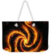 Very Big Red Gold Spiral Galaxy Weekender Tote Bag