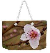 Very Early Peach Blooms Weekender Tote Bag