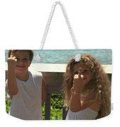 Very Naughty Angels Weekender Tote Bag