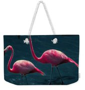 Very Pink Flamingos Weekender Tote Bag