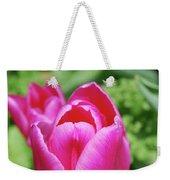 Very Pretty Dark Pink Tulip Flower Blossom Weekender Tote Bag