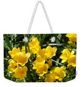Very Sunny Yellow Flowers Weekender Tote Bag