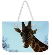 Very Tall Giraffe Weekender Tote Bag
