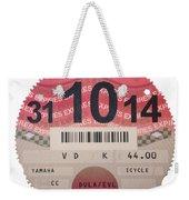 Very Taxing  Weekender Tote Bag