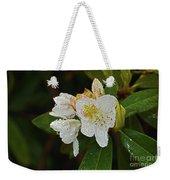 Very Wet Flower Weekender Tote Bag
