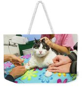 Vet Cannula Needle Injection Weekender Tote Bag