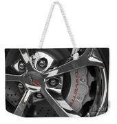 Vette Wheel Weekender Tote Bag