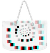 Vexer 2 - Use Red-cyan 3d Glasses Weekender Tote Bag