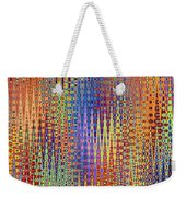 Vibrant Christmastree Forest Weekender Tote Bag