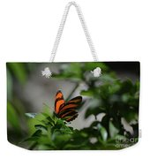 Vibrant Colors To A Orange Oak Tiger Butterfly Weekender Tote Bag