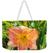 Vibrant Daylilly Weekender Tote Bag