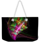 Vibrant Energy Swirls Weekender Tote Bag