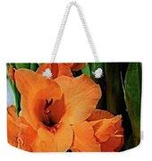 Vibrant Gladiolus Weekender Tote Bag