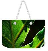 Vibrant Green Weekender Tote Bag