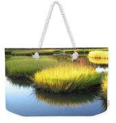 Vibrant Marsh Grasses Weekender Tote Bag