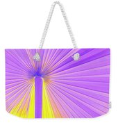 Vibrant Palm Frond Square Weekender Tote Bag