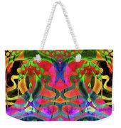 Vibrant Swirls Weekender Tote Bag