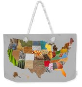 Vibrant Textures Of The United States Weekender Tote Bag