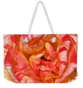 Vibrant Two Toned Rose Weekender Tote Bag