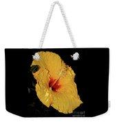 Vibrant Yellow Hibiscus By Kaye Menner Weekender Tote Bag