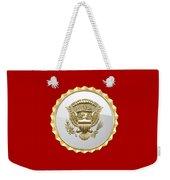 Vice Presidential Service Badge Weekender Tote Bag