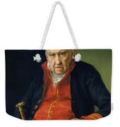 Vicente Portaia Lopez  Felix Maximo Lopez First Organist Of The Royal Chapel 1820 Weekender Tote Bag