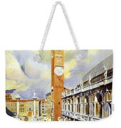 Vicenza Italy Travel Poster Weekender Tote Bag