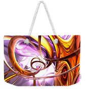 Vicious Web Abstract Weekender Tote Bag by Alexander Butler