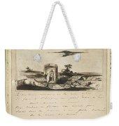 Victor Hugo   Landscape   1837 Weekender Tote Bag
