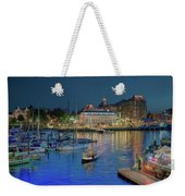Victoria At Night Weekender Tote Bag