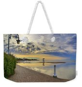 Victoria Beach Early Morning  Weekender Tote Bag